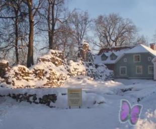 Valmieras ordeņa pils drupas un viduslaiku pils pamati