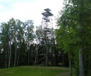 Objekta detalizēta meklēšana :: : Observation Tower on Eglu Kalns
