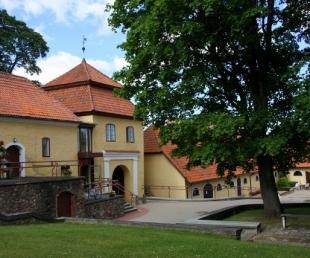 Замок  Шлокенбекас (Šlokenbekas muiža)