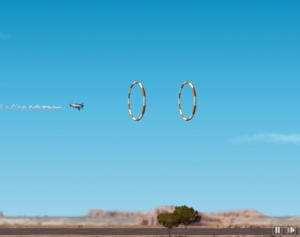 Video: Stunt pilot