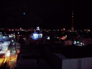 Daugavpils ainava naktii