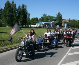 """Ziemeļlatgalē 9. jūnijā  Retro rallijs un """"Motociklu vasara 8""""(ARHĪVS)"""