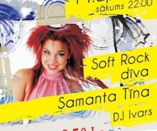 Samanta Tīna koncertēs klubā Kaķis(ARHĪVS)
