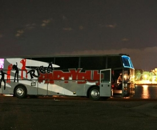 Riga PARTYBUS bus-nightclub