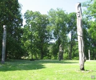 Skulptūru dārzs Lielvārdē