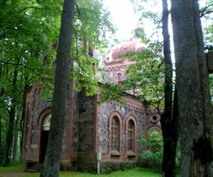 Nītaures Kristus Piedzimšanas pareizticīgo baznīca.