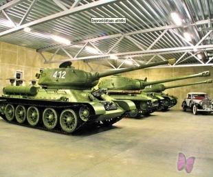 Militārās tehnikas muzejs Sventē
