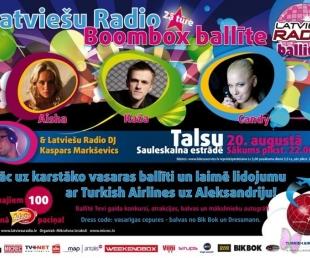 Latviešu radio ballīte Talsos!