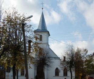 Ilūkstes luterāņu baznīca