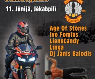 Starptautiskais Motociklistu salidijums Jēkabpilī(ARHĪVS)