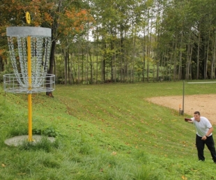 Disc Golf in Lettes
