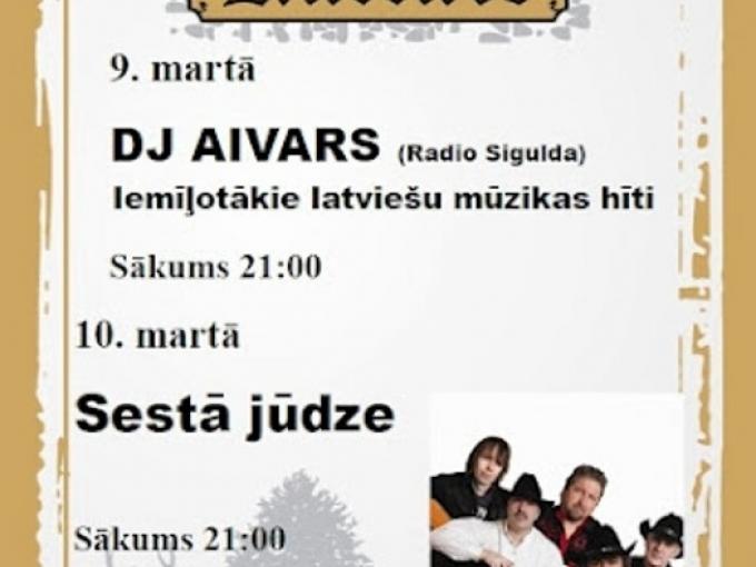 """Sestā jūdze ielūdz klubā """"Muzikālā Kurtuve""""(ARHĪVS)"""
