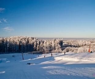 Jēkaba Grava - Ski track