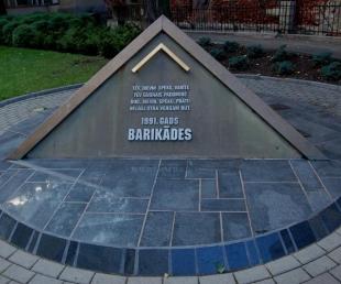 1991. gada barikāžu piemiņas zīme