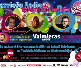 Latviešu Radio karstā ballīte - šoreiz Valmierā!