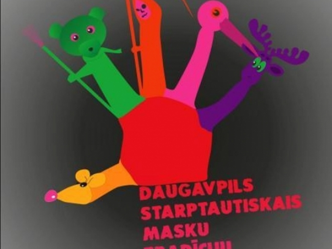 Daugavpils IX  Masku tradīciju festivāls(ARHĪVS)