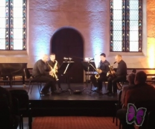 Festivāls VIA BALTICA turpinās ar saksofonu un stīgu kvartetu kvarteta koncertiem(ARHĪVS)