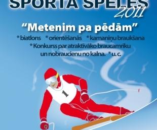 Ziemas sporta spēles Launkalnē 2011 Metenim pa pēdām