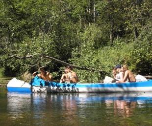 Laivošana ar kanoe laivām