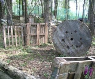 Bulstrumi-  Paintball,  kleines  Dampfbad  in  Ikšķile