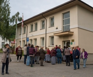 Tourism information center of Sabile