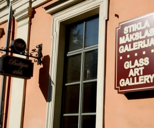 """Mākslas salons """"Baltijas stikls"""""""
