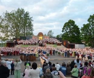 Jekabpils - Krustpils open-air stage