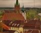 Kārniņu jumti Kuldīgas vecpilsētā
