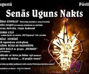 Pāvilostā notiks tradicionālais pasākums «Senās uguns nakts»(ARHĪVS)