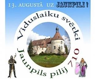 Jaunpils pils gatavojas atzīmēt savu 710. gada dienu(ARHĪVS)