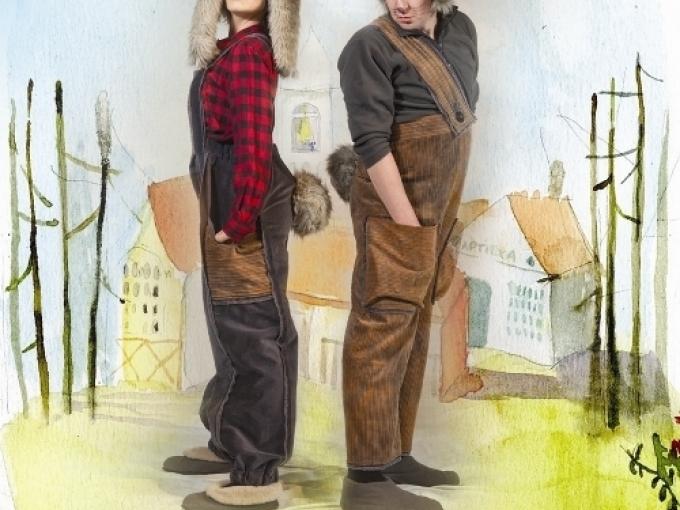 """Daugavpils teātris aicina - """"Pauks un Šmauks""""(ARHĪVS)"""