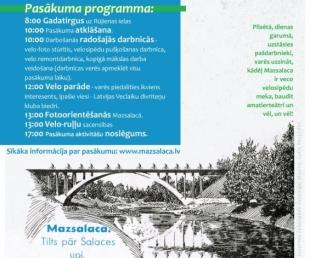 Pirmo reizi Latvijā rīko veco velosipēdu svētkus Mazsalacā(ARHĪVS)