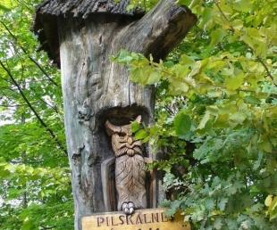 """Meža ainavu parks """"Pilskalnes Siguldiņa"""""""