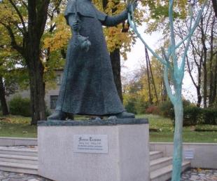 Franča Trasuna piemineklis Rēzeknē