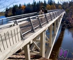 Svinīgi tiks atklāts tiltiņš pār Lielupi(ARHĪVS)