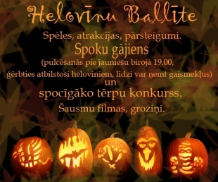 Helovīna Ballīte Valkā(ARHĪVS)