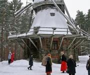Brīvdabas muzejs uzsācis ziemas sezonu(ARHĪVS)