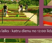 Miniparks Ķekavā uzsācis sezonu(ARHĪVS)