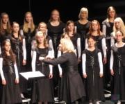 Rīgas Doma meiteņu korim 15 gadu jubileja(ARHĪVS)