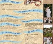 PASĀKUMA PROGRAMMA Tūrisma sezonas atklāšanas SAMA  MODINĀŠANAS SVĒTKI KOKNESĒ 2012.gada 19.maijā(ARHĪVS)