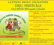 2. jūnijā Gulbenē pulcēsies dejotāji no visas Latvijas(ARHĪVS)