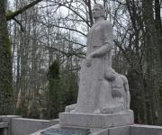 Oskara Kalpaka pēdējā atdusas vieta