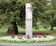 Krišjāņa Barona piemineklis