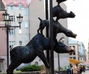 Brēmenes muzikantu skulptūra