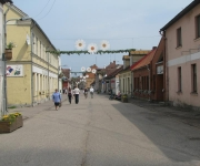 Liepājas iela-iela gājējiem Kuldīgas pilsētā
