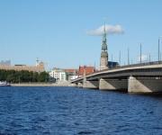 Rīgas panorāma no AB Dambja