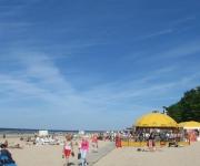 Jūrmalas pludmale