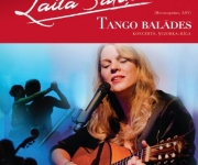 Dziedātājas Lailas Saliņas (mecosoprāns, ASV) koncerts TANGO BALĀDES  Cēsīs