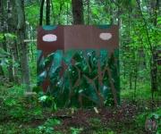 """Jāņa Dukāta personālizstāde """"Mežs"""" īstā mežā(ARHĪVS)"""